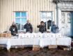 Villas julgåva – delade ut mat till behövande